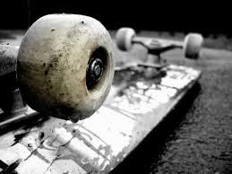 Hjemmebygget skateboard